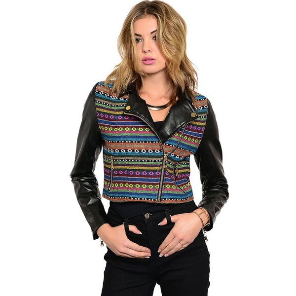 Shop The Trends Women Funky Cropped Jacket