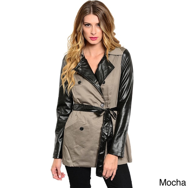 Shop The Trends Women Sand Trench Coat