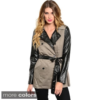 Feellib Women Sand Trench Coat