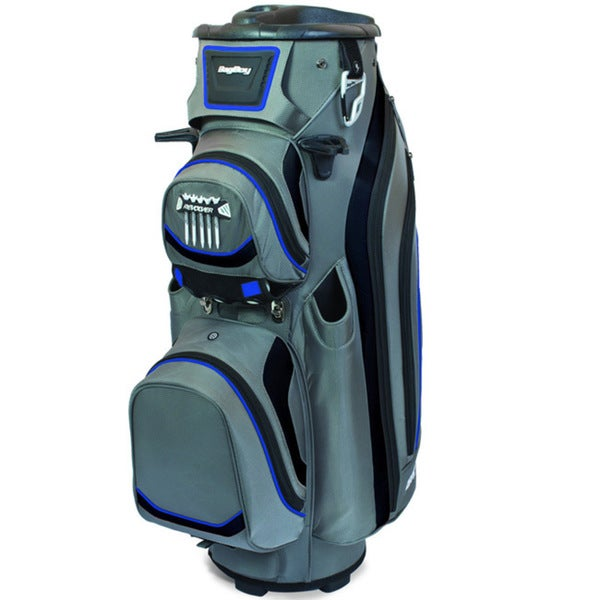 Bag Boy 2014 Silver/ Royal Blue Revolver LTD Cart Bag