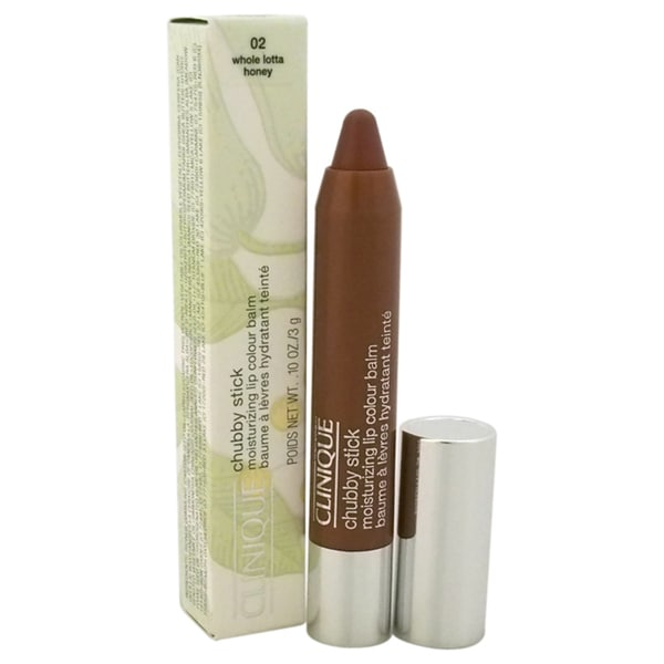 Clinique ChubStick Moisturizing Color Lip Balm # 02 Whole Lotta Honey