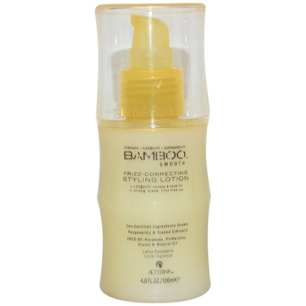Alterna Bamboo Smooth Frizz-Correcting 4-ounce Styling Lotion