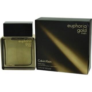 Calvin Klein Euphoria Gold Men's 3.4-ounce Eau de Toilette