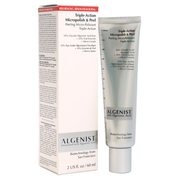 Algenist Triple-Action 2-ounce Micropolish and Peel