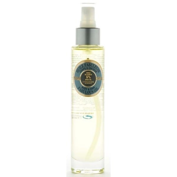L'Occitane Shea Butter 3.4-ounce Fabulous Oil