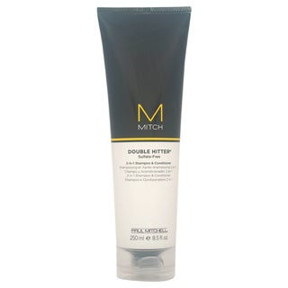 Paul Mitchell Mitch Double Hitter Men's Sulfate-Free 2-in-1 8.5-ounce Shampoo and Conditioner