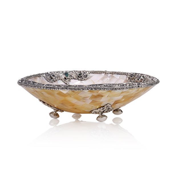 Neda Behnam Home Decor Sterling Silver Mother Of Pearl