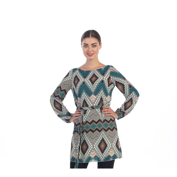 Hadari Women's Multi-colored Tribal Dress