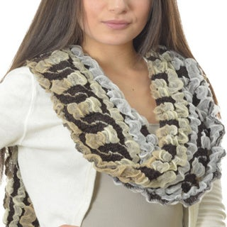 LA77 Chained Bubble Scarf
