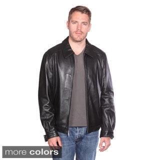 Christian Reed Men's Walden Leather Bomber Jacket