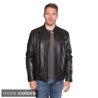 Christian Reed Men's Stanton Leather Moto Jacket