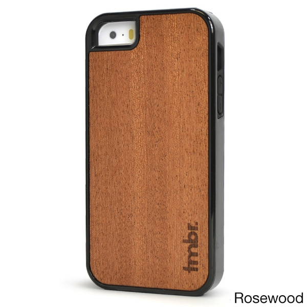 TMBR Shockproof Wood iPhone 5/5S Case