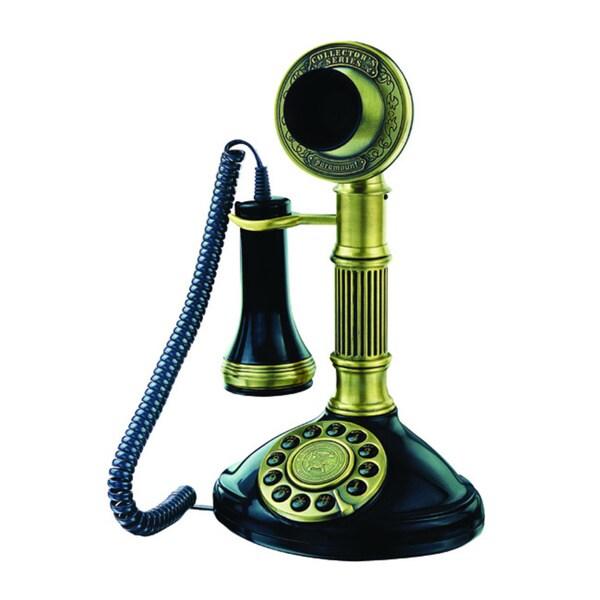 Paramount 1897 Roman Column Candlestick Reproduction Phone