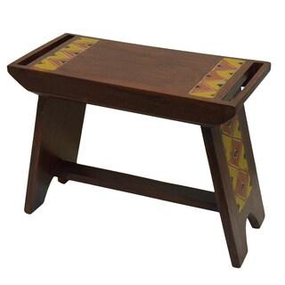 Hand-finished Craftsman House Bench (Ghana)