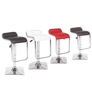 Jayden Adjustable Swivel Bar Stool (Set of 2)