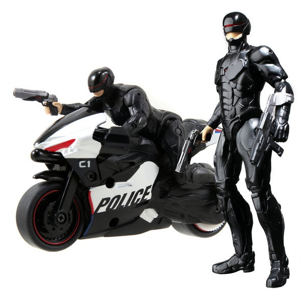 Robocop Cyle with Figure and 6-inch Light Up Figure 14197729