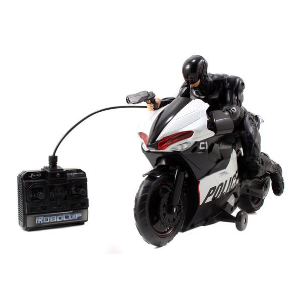 Jada Toys Robocop Radio Control Cycle 14197730