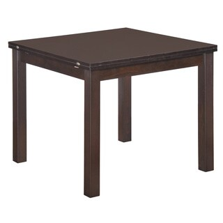 Dark Walnut Extendable Dining Table