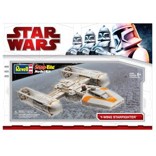 Star Wars Y Wing Fighter SnapTite Plastic Model Kit