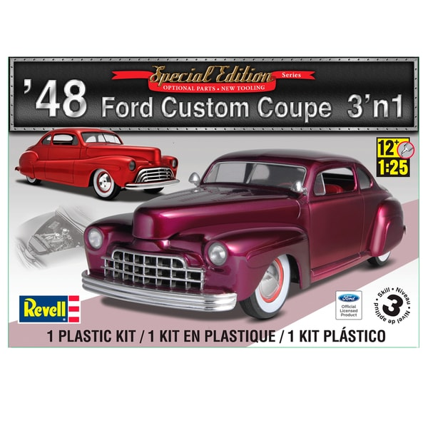 Revell 48 Ford Custom Coupe 1:25 Scale Model Car Kit