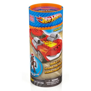 Mega Bloks Hot Wheels Twin Mill III Red