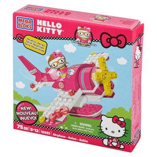 Mega Bloks Hello Kitty Airplane