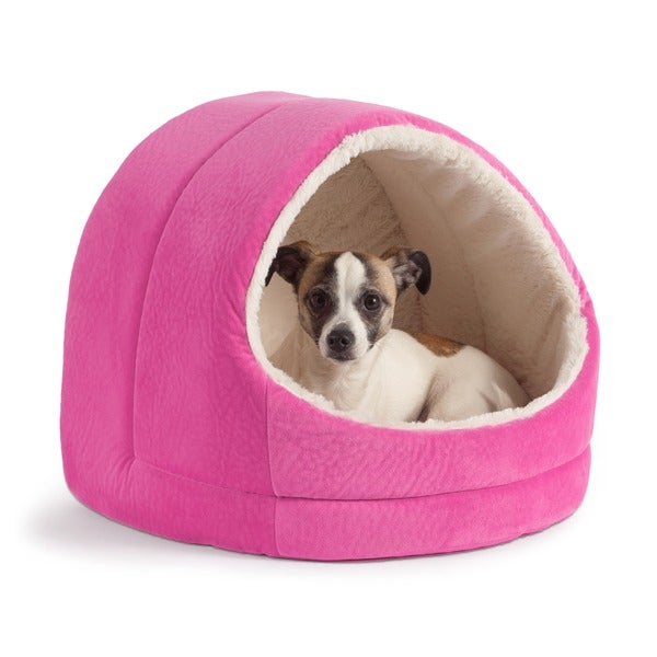 Best Friends by Sheri Hut Pet Bed (As Is Item)