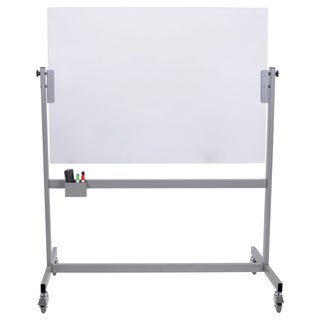 Luxor 52-inch x 66-inch Mobile Glass Marker Board