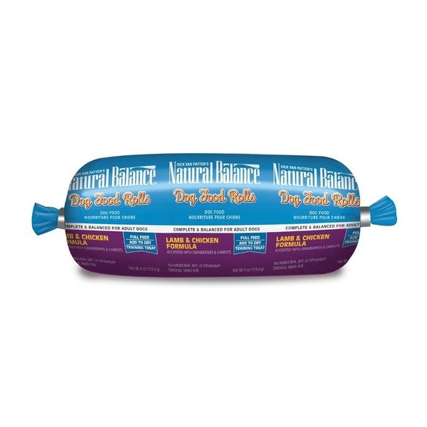 Natural Balance Lamb & Chicken Dog Food Roll