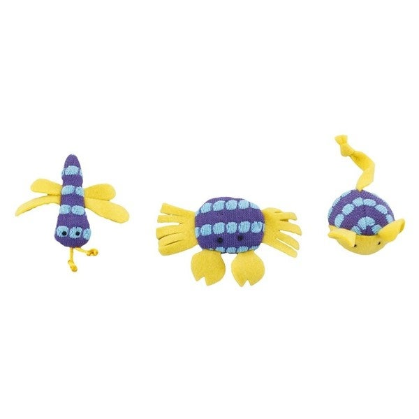 Ethical Fun Knits Catnip Cat Toys (3-pack)