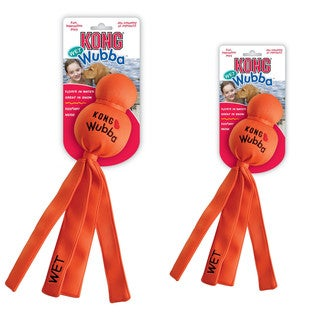 Kong Wet Wubba Water Dog Toy