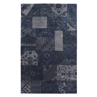 Utopia Grey/Blue Rug (8' x 11' )