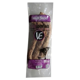 Vital Essentials Freeze-Dried Turkey Neck Dog Treats (Pack of 3)