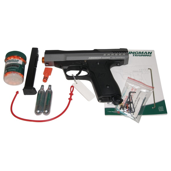 KT Kingman Training Eraser Paintball Training Pistol Set