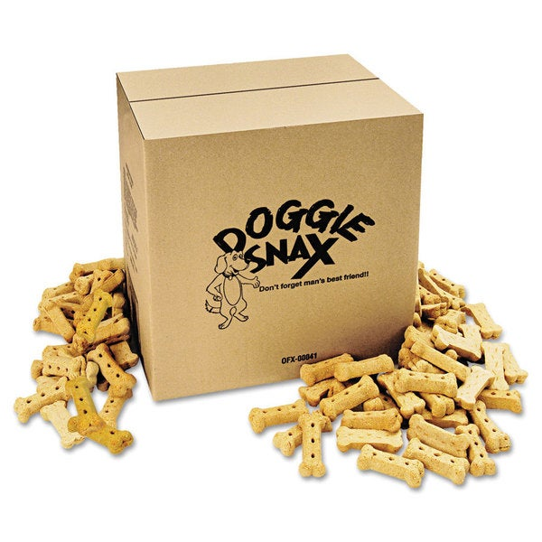 Office Snax Doggie Biscuits, 10-Pound Box