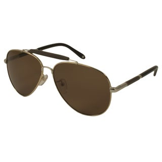 Givenchy Men's/ Unisex SGV461 Polarized/ Aviator Sunglasses
