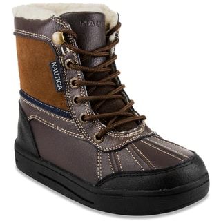 Nautica Men's 'Lockview' Brown Outdoor Ankle Boots