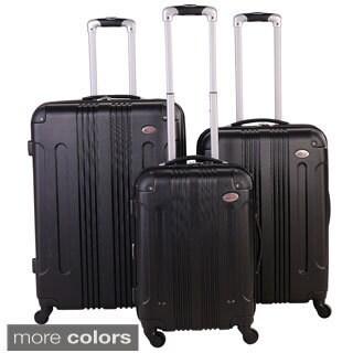 American Flyer Kova 3-piece Hardside Spinner Luggage Set