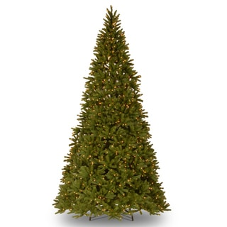 10.5-foot 'Feel-Real' Frasier Fir Medium Hinged Tree with 1250 Ready-Lit Clear Lights