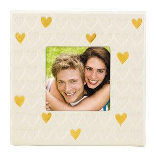 Lenox Gold Rush Heart Frame 4x4