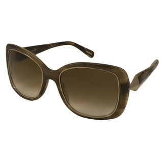 Givenchy Women's SGV829 Rectangular Sunglasses
