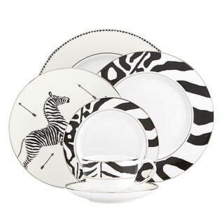 Lenox Scalamandre Zebras Platinum 5-piece Place Setting