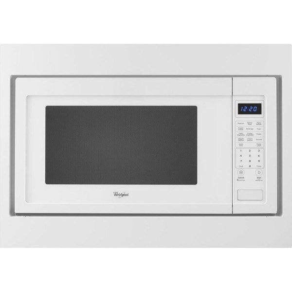 Whirlpool WMC50522AW White 2.2-cubic-foot Countertop Microwave