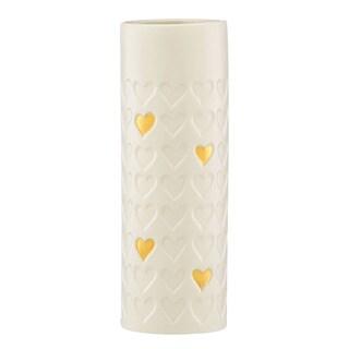 Lenox Gold Rush Heart 9-inch Vase