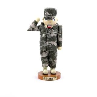 Kurt Adler 12-inch U.S. Army Soldier Nutcracker