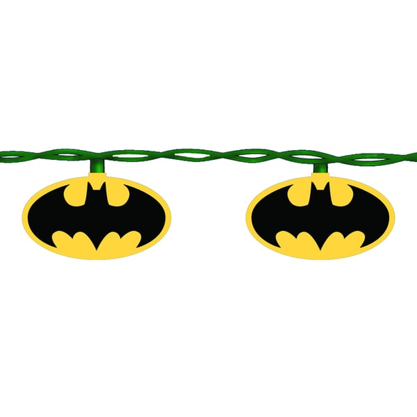 Kurt Adler 10-light Batman Light Set