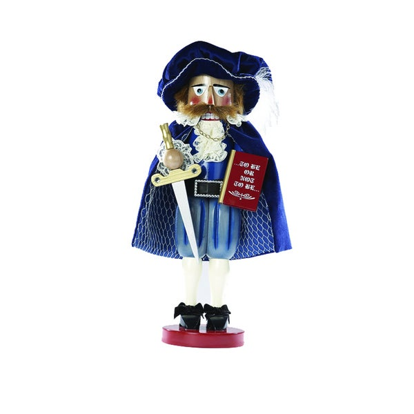 Kurt Adler 17-inch Limited Edition Steinbach Hamlet Prince of Denmark Signed Nutcracker