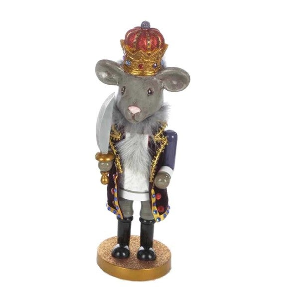 Kurt Adler 12-inch Hollywood Mouse King Nutcracker