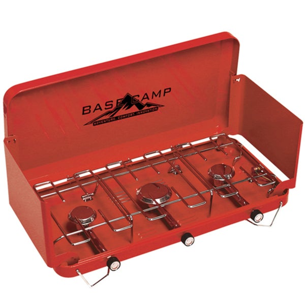 Basecamp Three Burner Red Stove