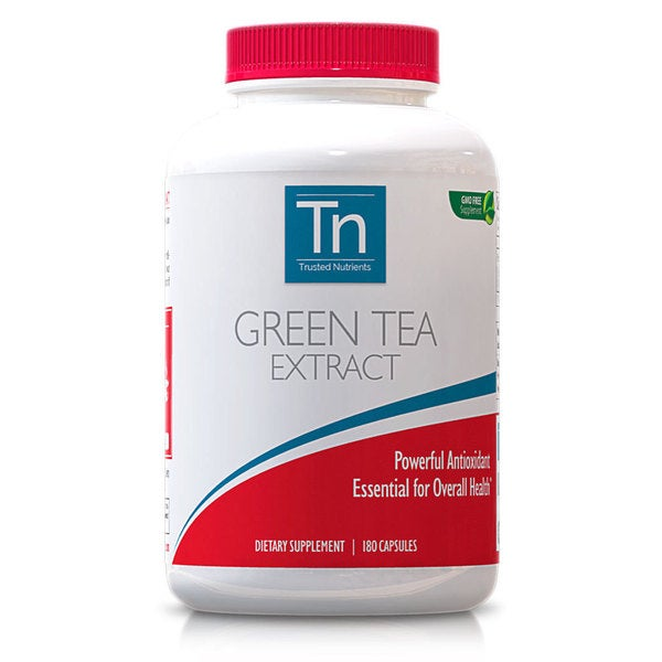 Trusted Nutrients 630mg Green Tea Extract (180 Capsules)